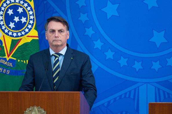 President of Brazil「President Jair Bolsonaro Announces the New Ministry of Health Amidst the Coronavirus (COVID-19) Pandemic」:写真・画像(0)[壁紙.com]