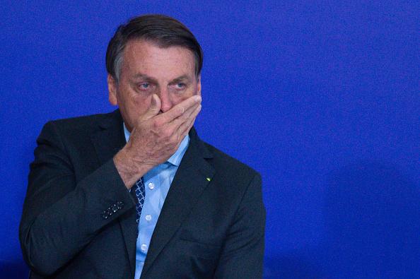President of Brazil「Bolsonaro Attends the Volunteering Alliance Launch Amidst the Coronavirus (COVID - 19) Pandemic」:写真・画像(6)[壁紙.com]
