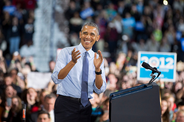 Secretary Of State「President Obama Campaigns for Democratic presidential nominee former Secretary of State Hillary Clinton In New Hampshire Day Before Election」:写真・画像(14)[壁紙.com]
