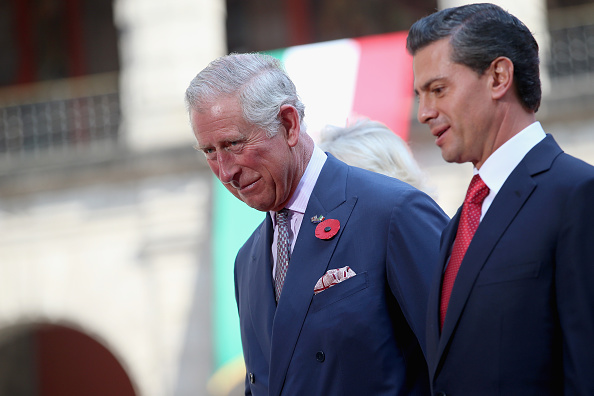 President of Mexico「Prince Of Wales And The Duchess Of Cornwall Visit Mexico - Day 2」:写真・画像(12)[壁紙.com]