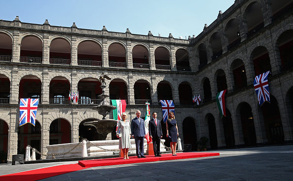 President of Mexico「Prince Of Wales And The Duchess Of Cornwall Visit Mexico - Day 2」:写真・画像(13)[壁紙.com]