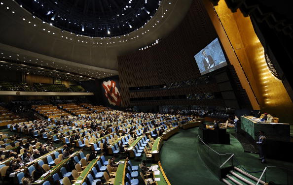 United Nations Building「World Leaders Attend First Day Of UN General Assembly」:写真・画像(5)[壁紙.com]