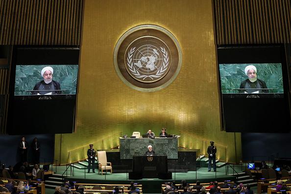 United Nations Building「World Leaders Address United Nations General Assembly」:写真・画像(4)[壁紙.com]