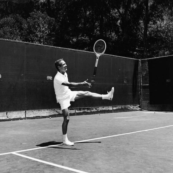 テニス「Paul Newman Throws Tennis Racket」:写真・画像(19)[壁紙.com]