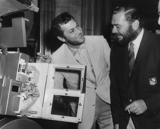 Ernest Borgnine And Tony Curtis:ニュース(壁紙.com)