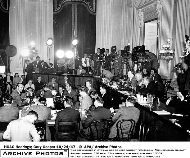 Gary Cooper At HUAC Hearings:ニュース(壁紙.com)