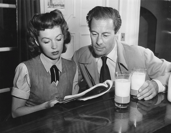 Actress「Rex Harrison And Lilli Palmer」:写真・画像(5)[壁紙.com]