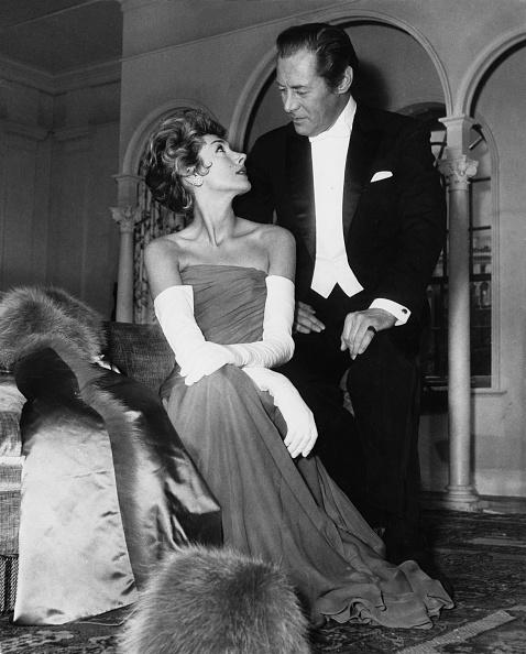 Evening Glove「Rex Harrison And Kay Kendall」:写真・画像(0)[壁紙.com]