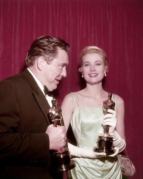 Grace Kelly - Actress「Kelly And O'Brien At The Oscars」:写真・画像(8)[壁紙.com]
