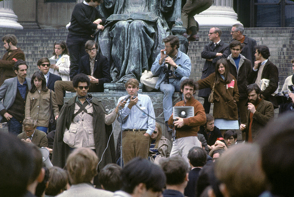 Columbia University「Mark Rudd Addresses Columbia Students」:写真・画像(2)[壁紙.com]