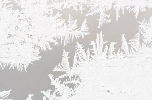 Frost「Abstract white ice flower background」:スマホ壁紙(3)