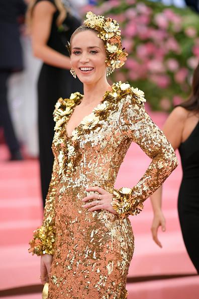 Emily Blunt「The 2019 Met Gala Celebrating Camp: Notes on Fashion - Arrivals」:写真・画像(10)[壁紙.com]