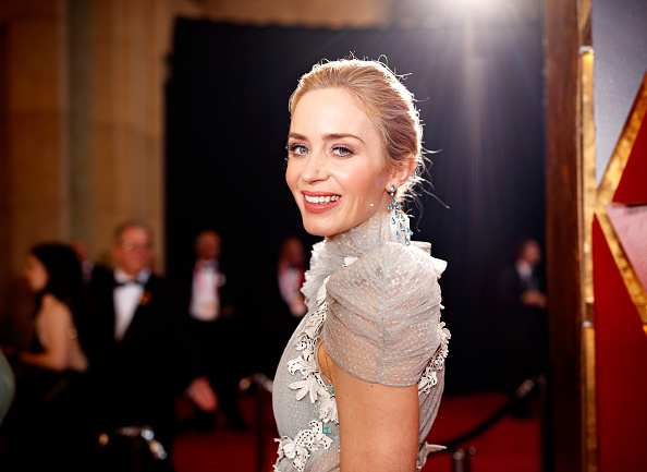 Emily Blunt「90th Annual Academy Awards - Red Carpet」:写真・画像(5)[壁紙.com]