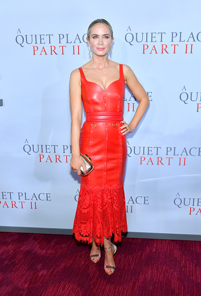 "Gold Purse「PARAMOUNT PICTURES PRESENTS THE WORLD PREMIERE OF ""A QUIET PLACE PART II""」:写真・画像(7)[壁紙.com]"