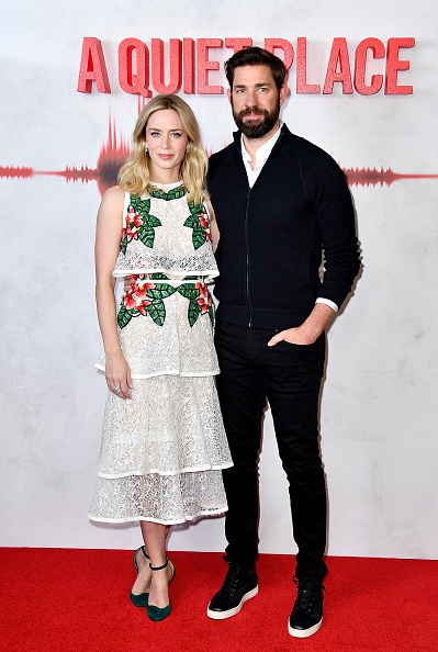 Two People「'A Quiet Place' Immersive VIP Fan Screening In London」:写真・画像(14)[壁紙.com]