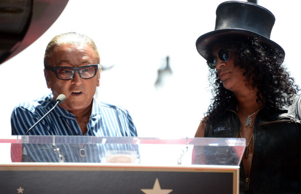 Producer「Slash honored with the 2,473rd Star on the Hollywood Walk of Fame」:写真・画像(11)[壁紙.com]