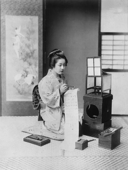 Writing「Letter Writing In Japan」:写真・画像(1)[壁紙.com]