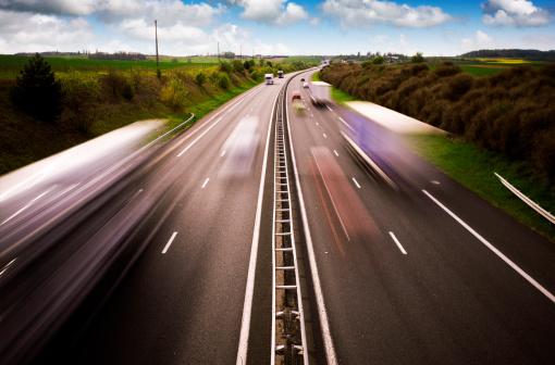 Road Marking「Motorway traffic」:スマホ壁紙(1)