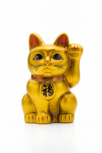 金運「Beckoning Cat」:スマホ壁紙(12)