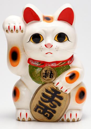 Maneki Neko「Beckoning Cat」:スマホ壁紙(13)