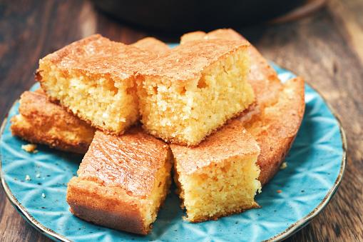 Corn Bread「Iron Cast Skillet Corn Bread」:スマホ壁紙(7)