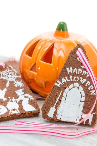 ハロウィン「Shortbread cookies with Halloween concept」:スマホ壁紙(17)