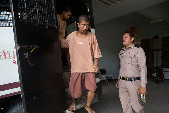 David Lin「Koh Tao Murder Suspects Appear In Court To Submit Their Plea」:写真・画像(2)[壁紙.com]