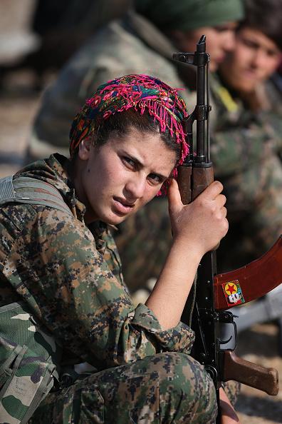 Kurdish「Syrian Kurdish Republic Of Rojava Becomes Bulwark In Battle Against ISIL」:写真・画像(14)[壁紙.com]