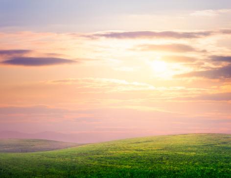 Sunlight「Hilly meadow」:スマホ壁紙(19)