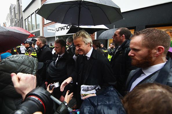Netherlands「Gert Wilders Campaigns Ahead of Dutch General Elections」:写真・画像(12)[壁紙.com]