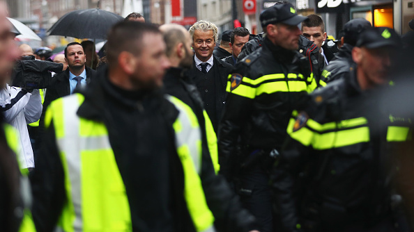 Security「Gert Wilders Campaigns Ahead of Dutch General Elections」:写真・画像(12)[壁紙.com]