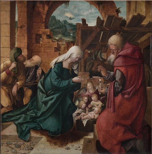 Oil On Wood「Adoration Of The Shepherds」:写真・画像(16)[壁紙.com]