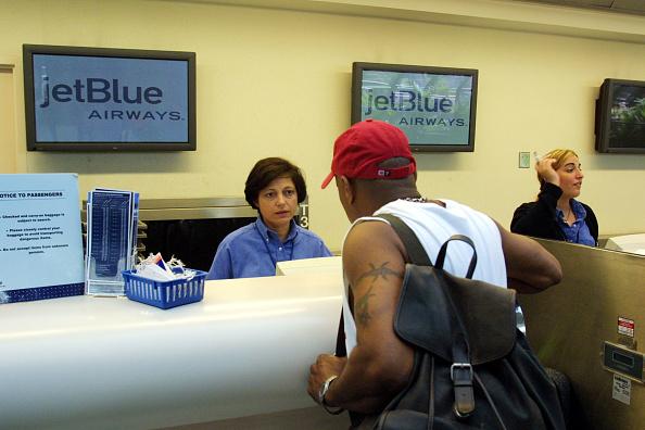 Blue「JetBlue Airlines in Ft. Lauderdale, Florida」:写真・画像(10)[壁紙.com]