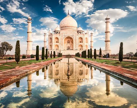 Agra「Taj Mahal Sunrise」:スマホ壁紙(5)