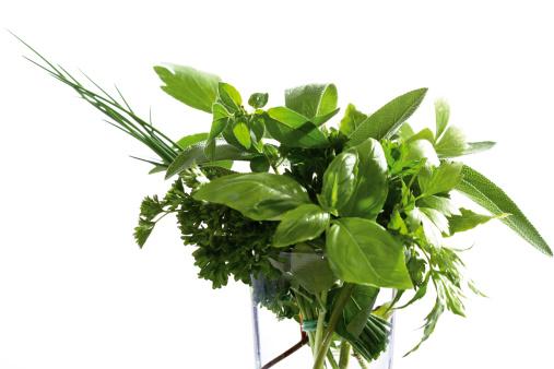 花瓶「Pot-herbs in glass」:スマホ壁紙(1)