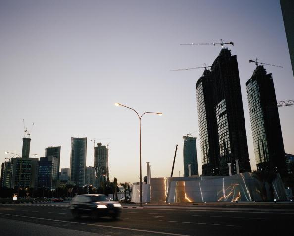 Construction Industry「Dusk In Doha」:写真・画像(10)[壁紙.com]