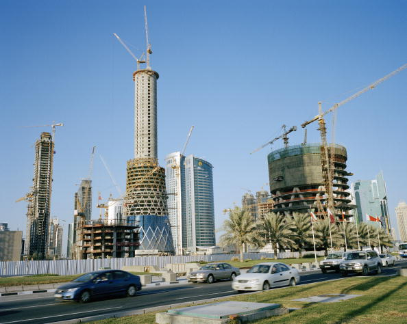 Construction Site「Construction In Doha」:写真・画像(5)[壁紙.com]