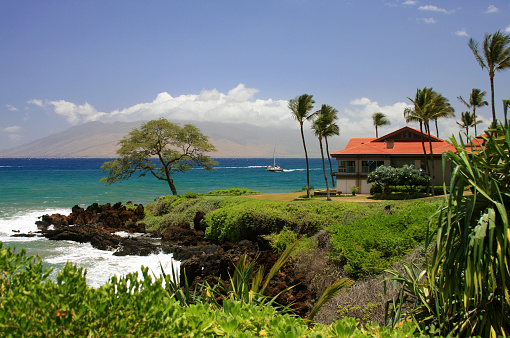 Pacific Ocean「Pacific ocean front vacation house on Maui Hawaii」:スマホ壁紙(12)