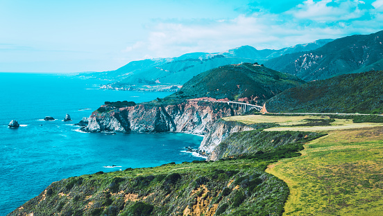 Big Sur「Pacific Ocean at Big Sur California」:スマホ壁紙(5)