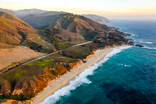 California State Route 1「Pacific Ocean at Big Sur」:スマホ壁紙(11)