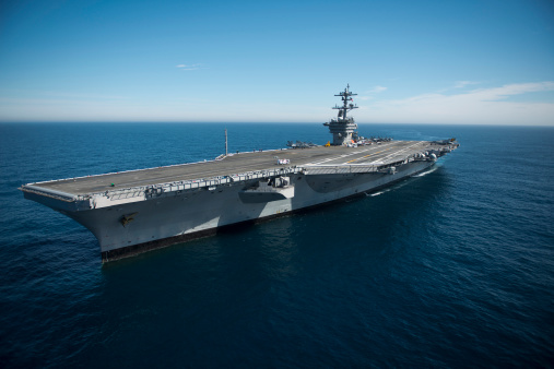 Military「Pacific Ocean, February 15, 2013 - The aircraft carrier USS Carl Vinson is underway conducting Precision Approach Landing System (PALS) and flight deck certifications. 」:スマホ壁紙(10)