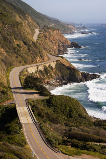 California State Route 1「Pacific Ocean landscape with Highway 1.」:スマホ壁紙(17)