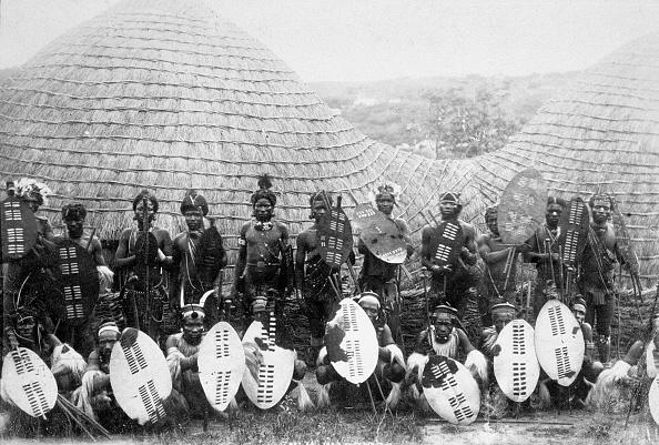 Outdoors「Zulu Warriors Southern Africa circa 1875」:写真・画像(14)[壁紙.com]