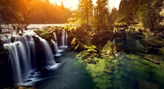 Waterfall「Traunfall Austria Beautiful waterfall」:スマホ壁紙(14)