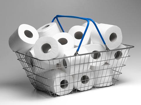 Selfishness「Panic buying of toilet rolls」:スマホ壁紙(13)