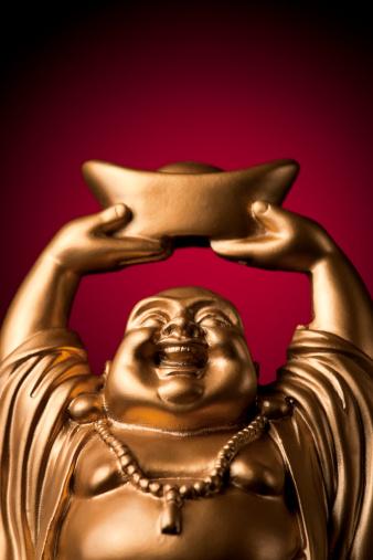 仕事運「金プロスペリティ Buddha Maitreya」:スマホ壁紙(4)