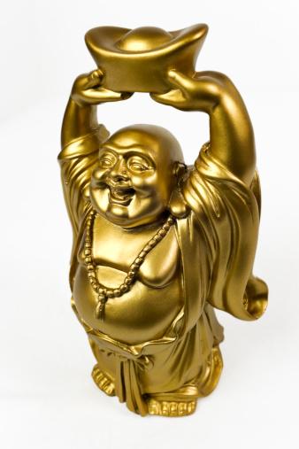 仕事運「金プロスペリティ Buddha Maitreya」:スマホ壁紙(19)