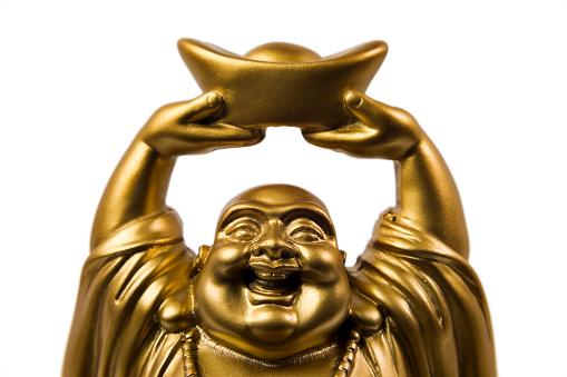 仕事運「金プロスペリティ Buddha Maitreya」:スマホ壁紙(14)