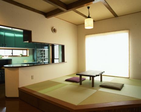 Zabuton「Tatami room」:スマホ壁紙(18)