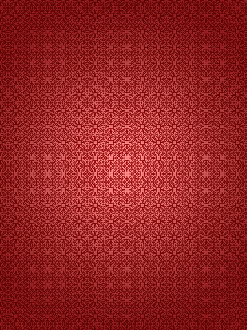 Embroidery「Red textured retro wallpaper background」:スマホ壁紙(9)